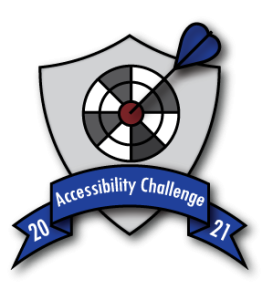 2021 Summer Accessibility Challenge badge.